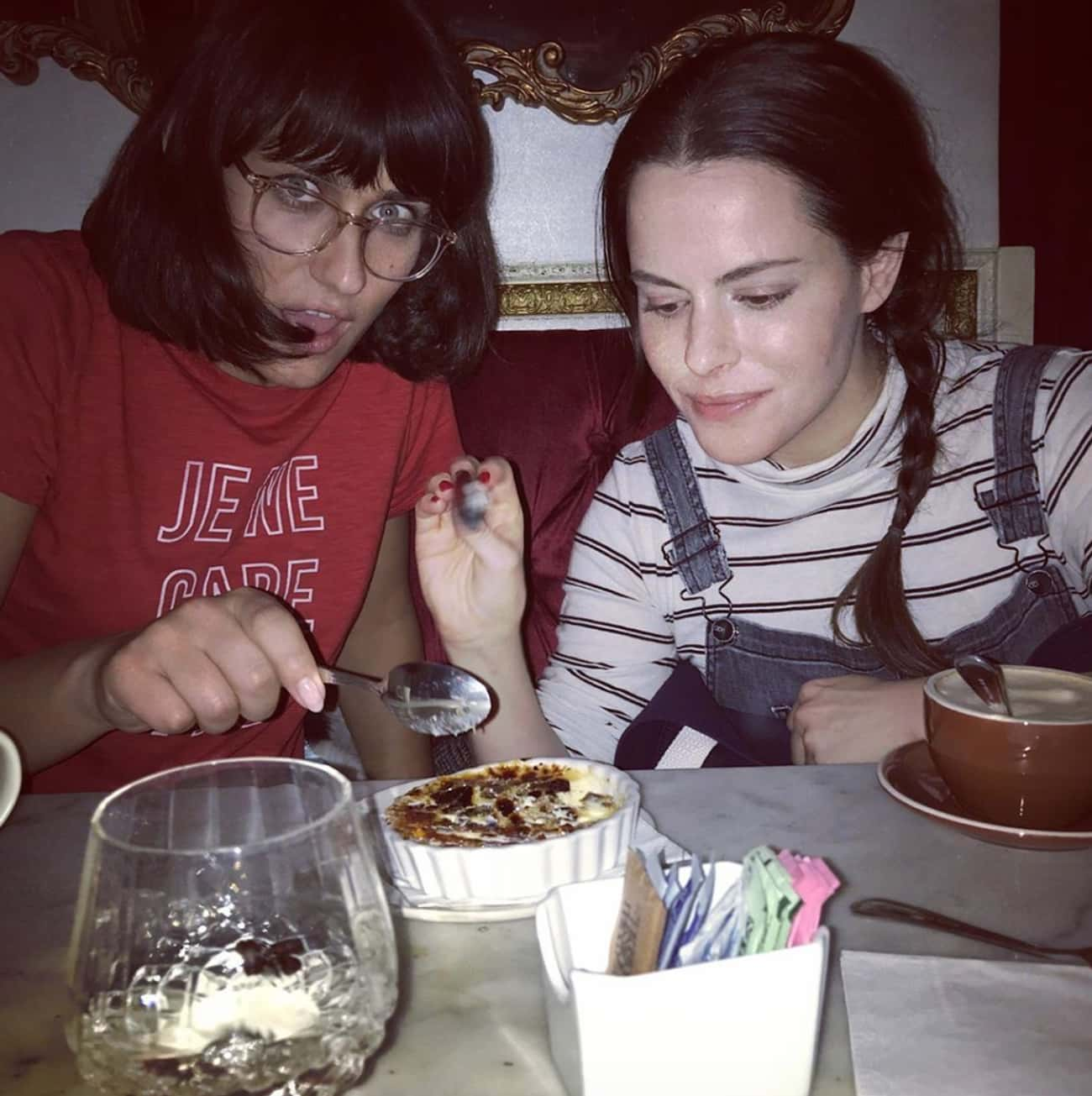 Teddy Geiger is listed (or ranked) 1 on the list Every Celebrity Emily Hampshire Has Dated
