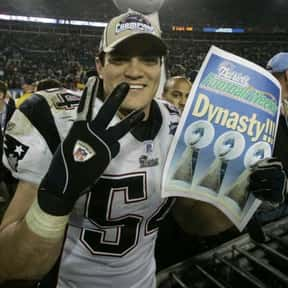 Tedy Bruschi is listed (or ranked) 14 on the list The Best New England Patriots Of All Time
