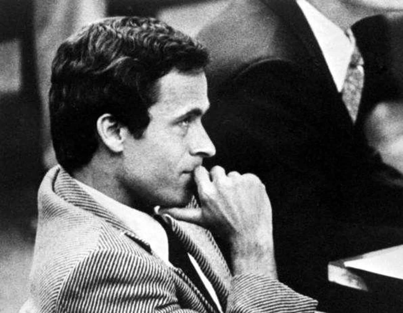 Ted Bundy is listed (or ranked) 1 on the list America's Most Famous Serial Killers