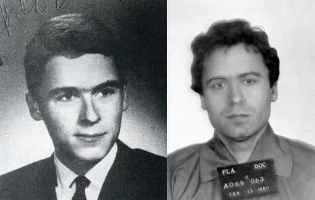 Ted Bundy is listed (or ranked) 3 on the list 12 Chilling Yearbook Pictures of Serial Killers and Notorious Murderers