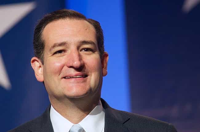Ted Cruz is listed (or ranked) 4 on the list Celebrities With Student Loan Debt