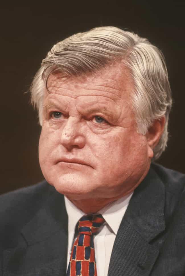 Ted Kennedy is listed (or ranked) 2 on the list 9 Famous People Who Were Kicked Out of College