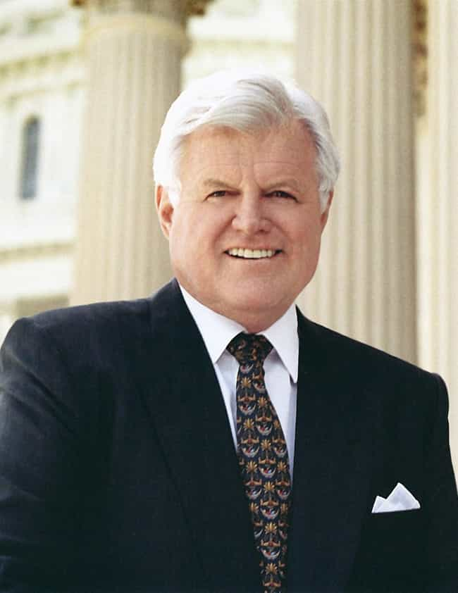Ted Kennedy is listed (or ranked) 3 on the list Members of the Kennedy Family