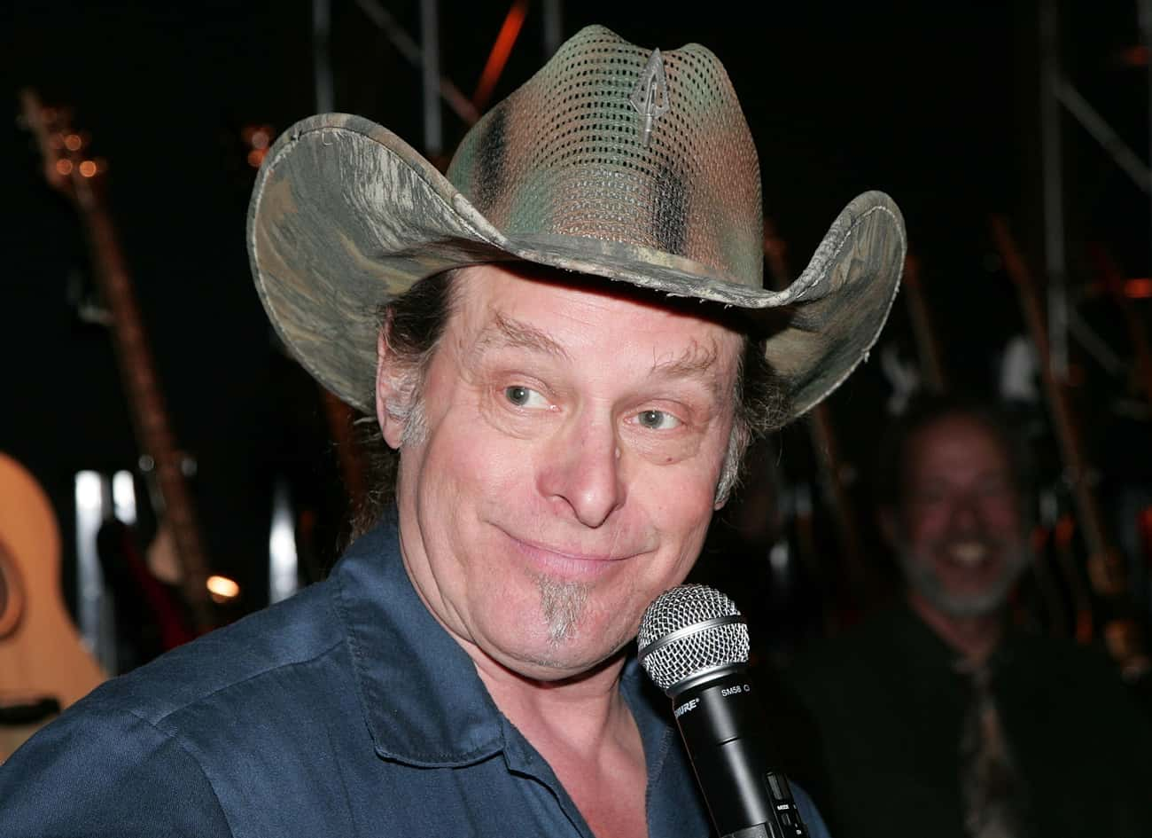 Ted Nugent is listed (or ranked) 4 on the list Straight Edge Celebrities