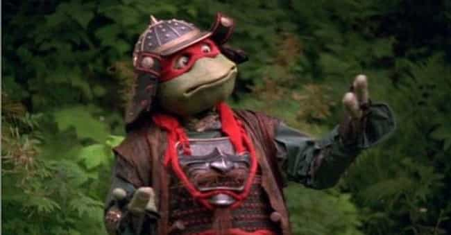 Teenage Mutant Ninja Turtles I... is listed (or ranked) 1 on the list Movies That No '90s Kid Is Nostalgic About
