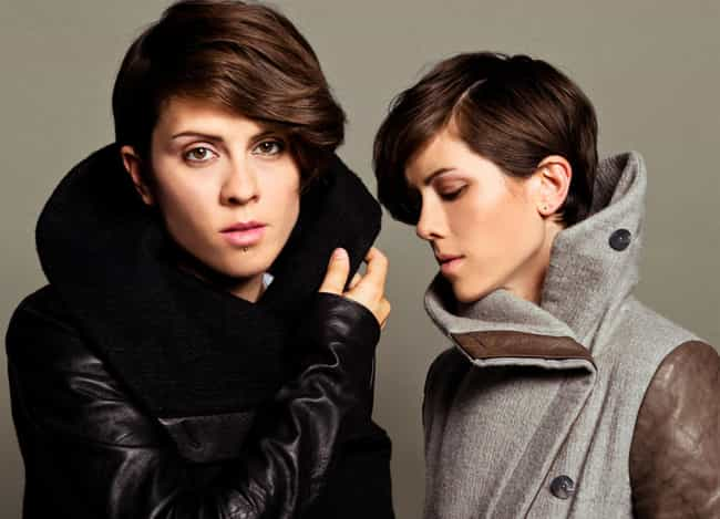 Tegan and Sara is listed (or ranked) 1 on the list Sets Of Famous Twins Who Are Both Gay