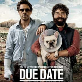 Due Date is listed (or ranked) 20 on the list The Best Robert Downey Jr. Movies