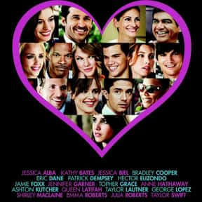 Valentine's Day is listed (or ranked) 21 on the list Films Edited by Bruce Green