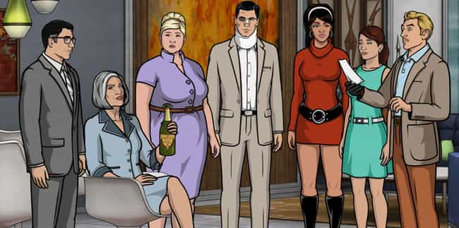 Archer is listed (or ranked) 6 on the list Rick And MortyIs On Hiatus Once Again: Here Are 15 Series To Watch In The Meantime