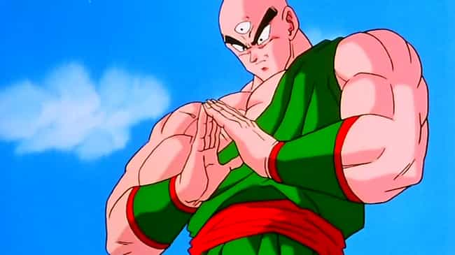 tien shinhan is listed or ranked 2 on the list which dragon ball character