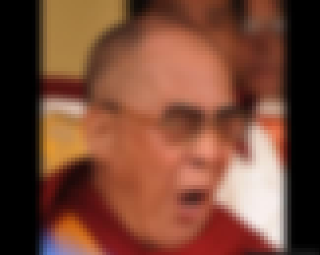 Tenzin Gyatso, 14th Dalai Lama is listed (or ranked) 1 on the list The Sleepiest Pictures of Celebrities Yawning