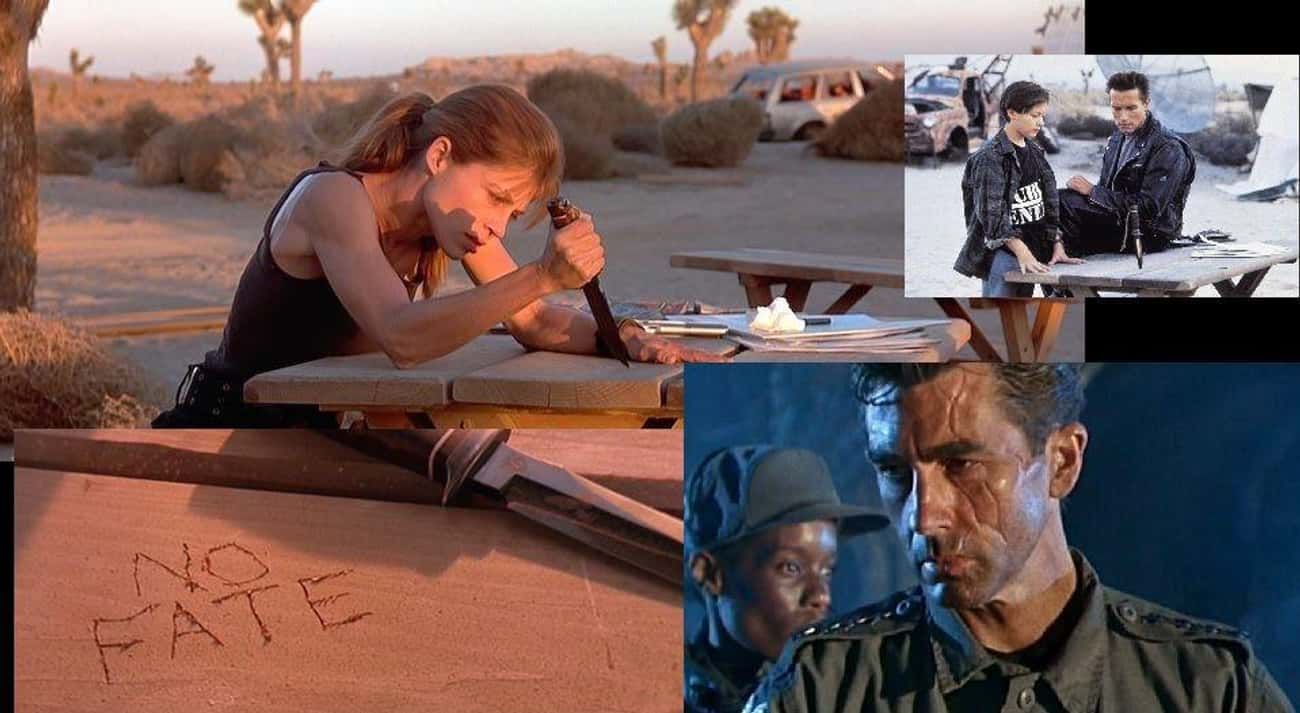Terminator 2: Judgment Day is listed (or ranked) 1 on the list 18 Awesome Sci-Fi Movies That Got Away Without Explaining Major Things