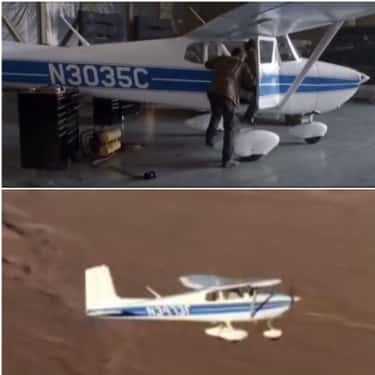 Two Different Planes In 'T is listed (or ranked) 2 on the list The Biggest Continuity Errors You Never Noticed In Huge Movies