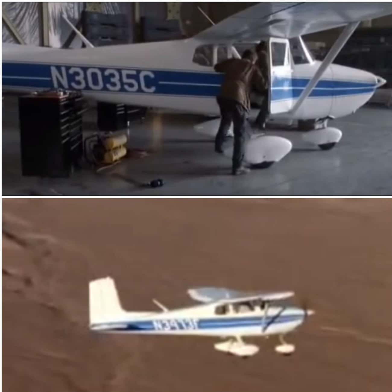 Two Different Planes In 'Terminator 3: Rise Of The Machines''