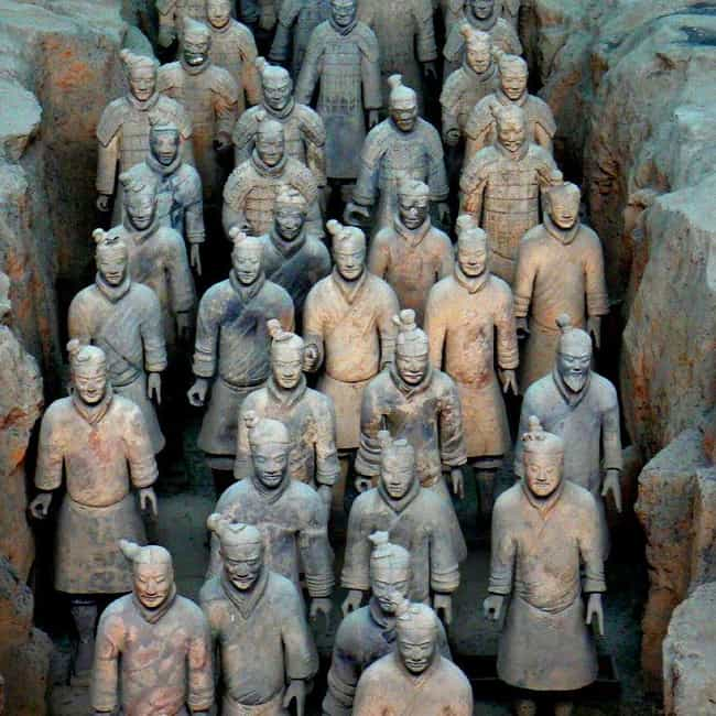 Terracotta Army is listed (or ranked) 4 on the list 16 Underrated Historical Monuments That Should Be Wonders of the Ancient World