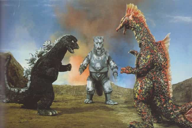 Terror of Mechagodzilla ... is listed (or ranked) 3 on the list The Visual Evolution Of Godzilla