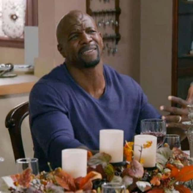 Terry Crews is listed (or ranked) 13 on the list Crazy Diets of Wrestlers and Other Athletes