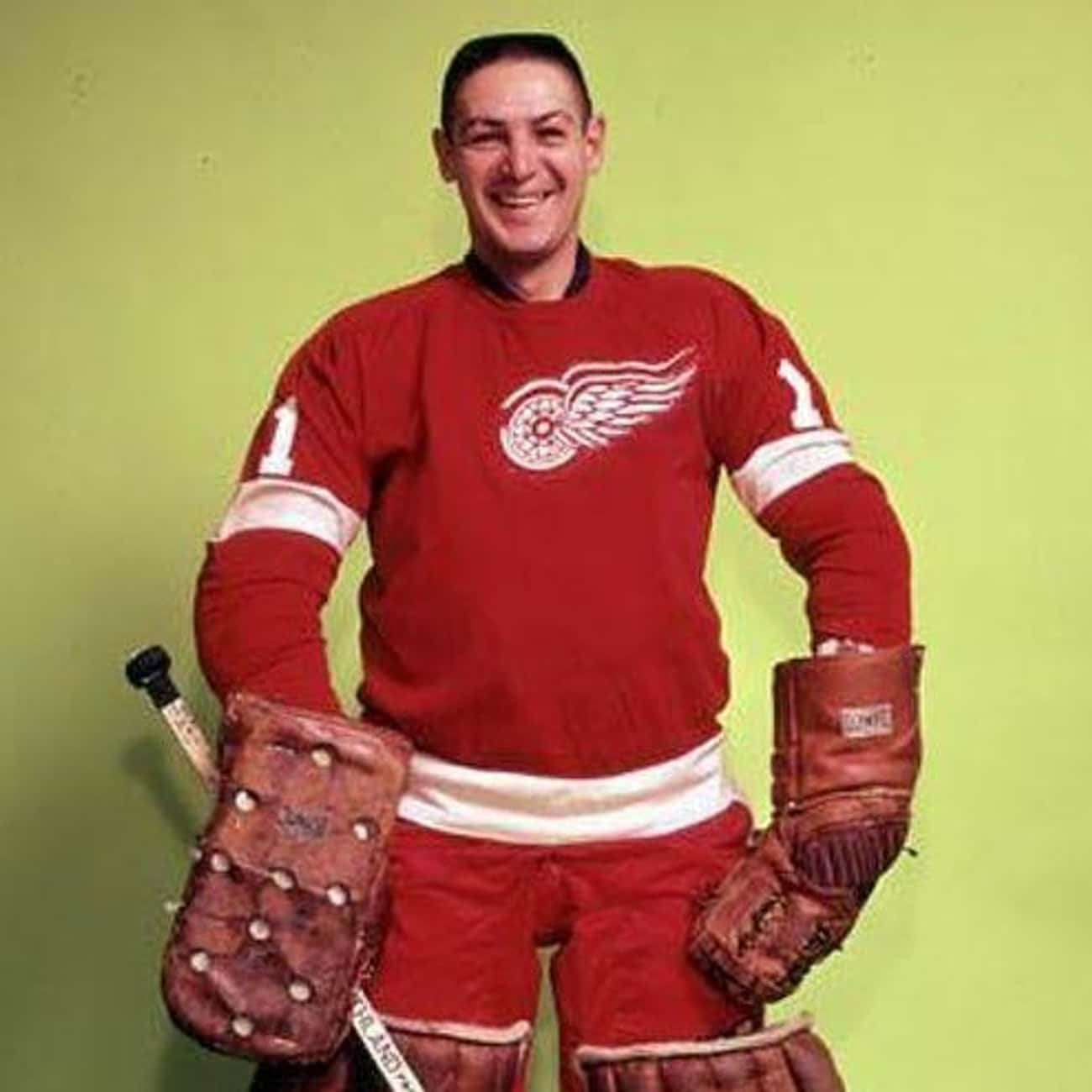 Terry Sawchuk is listed (or ranked) 4 on the list The Best Athletes Who Wore #1