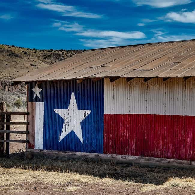 Texas is listed (or ranked) 2 on the list The Best State Nicknames