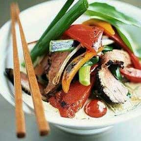 Thai food is listed (or ranked) 10 on the list Your Favorite Types of Cuisine