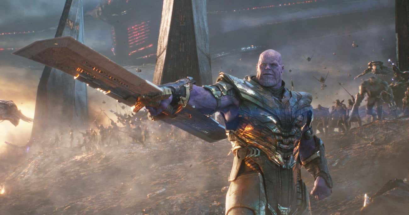 Thanos is listed (or ranked) 3 on the list The 25 Strongest Villains In The MCU, Ranked