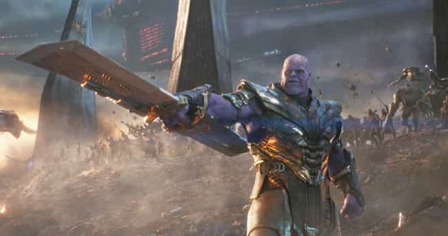 Thanos is listed (or ranked) 2 on the list The 25 Strongest Villains In The MCU, Ranked