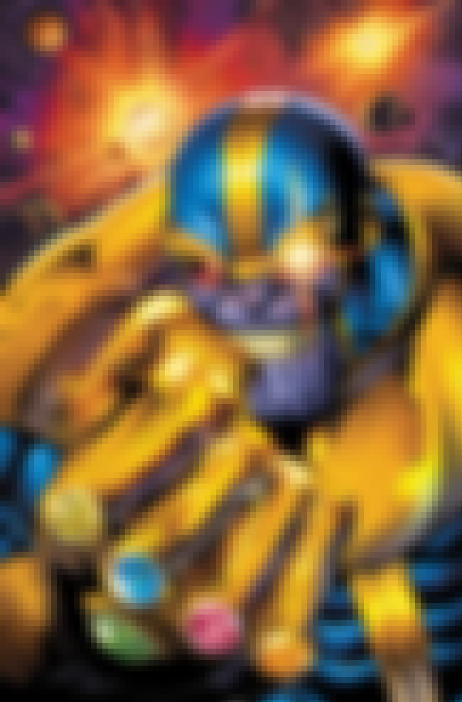 Thanos is listed (or ranked) 1 on the list The Silver Surfer's Greatest Foes