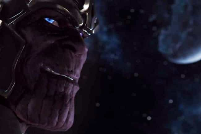 Thanos is listed (or ranked) 4 on the list The Best Archenemies in Marvel Comics