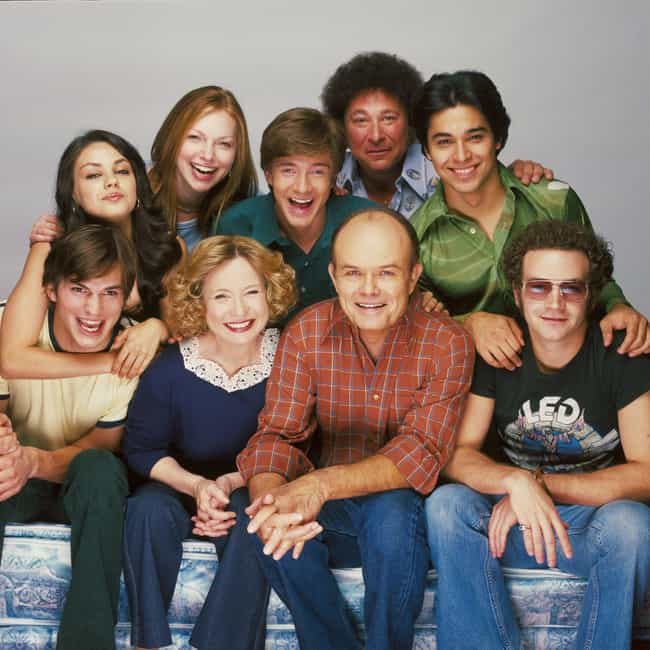 That '70s Show is listed (or ranked) 8 on the list TV Casts That Still Hang Out Even Though Their Shows Ended