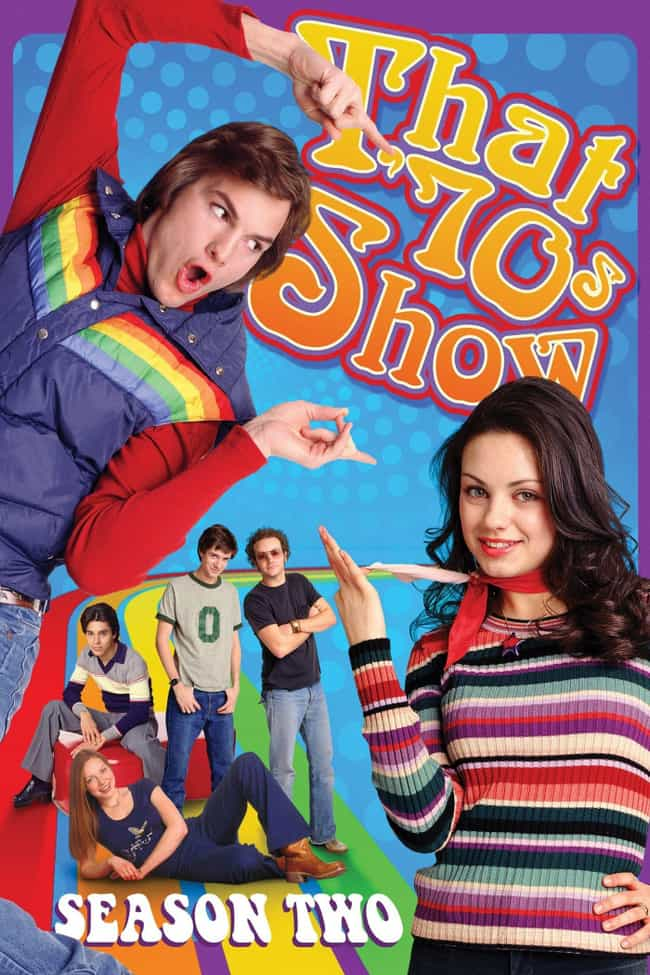 That 70's Show Season 2 ... is listed (or ranked) 1 on the list The Best Seasons of 'That '70s Show'