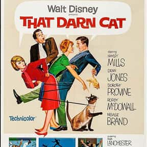 That Darn Cat! is listed (or ranked) 17 on the list The Best Cat Movies