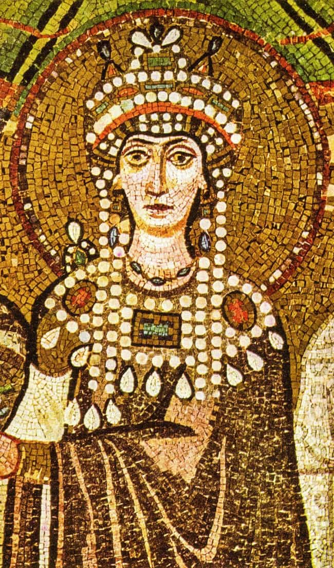 Theodora is listed (or ranked) 3 on the list The Most Successful Sex Workers In History