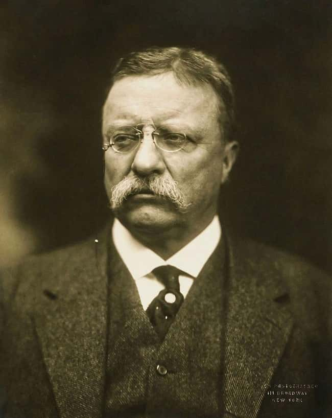 Theodore Roosevelt is listed (or ranked) 25 on the list Every U.S. President & Every Medical Problem They've Ever Had