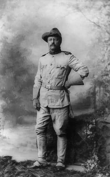 Theodore Roosevelt is listed (or ranked) 1 on the list 19 World Leaders Who Have Tattoos