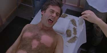 Steve Carell, 'The 40-Year-Old Virgin' - He Really Got His Chest Waxed, And Those Screams Of Agony Are Genuine