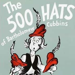 The 500 Hats of Bartholomew Cu is listed (or ranked) 23 on the list The Best Dr. Seuss Books