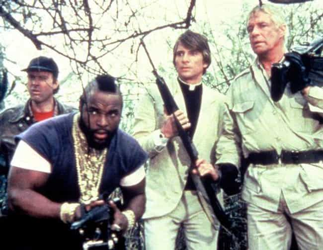 The A-Team is listed (or ranked) 4 on the list The Most Popular TV Shows Of The 1980s