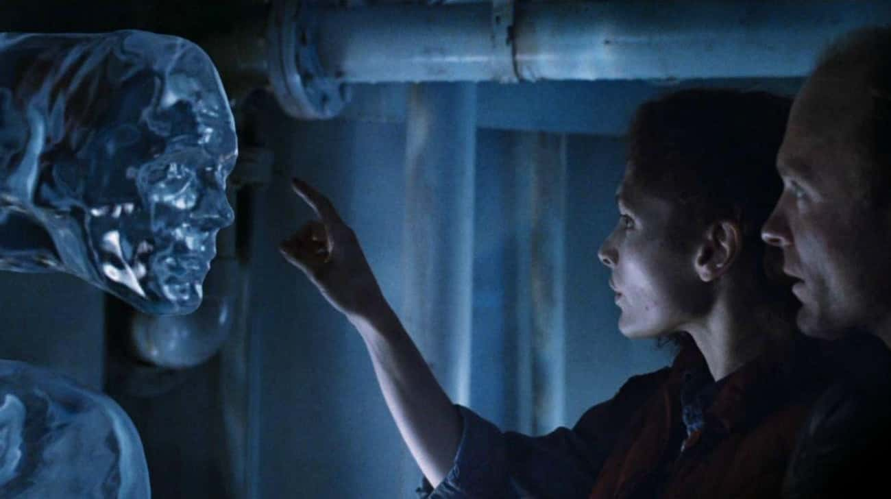 The Abyss is listed (or ranked) 4 on the list 18 Awesome Sci-Fi Movies That Got Away Without Explaining Major Things