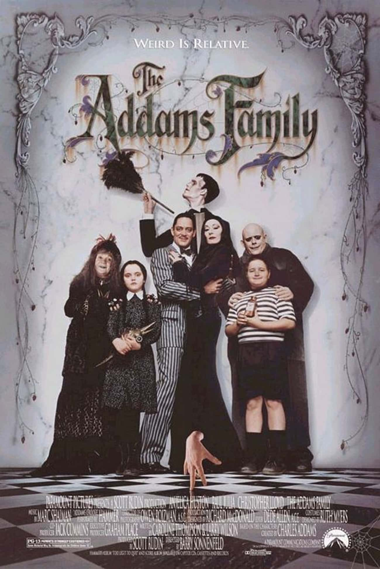 The Addams Family is listed (or ranked) 2 on the list The Best Movies and Series in the Addams Family Franchise