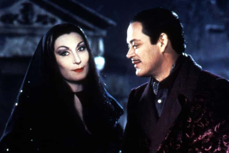 Gomez And Morticia From 'The Addams Family'