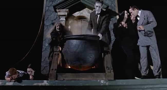 The Addams Family is listed (or ranked) 4 on the list The Best Christmas Scenes In Non-Christmas Movies