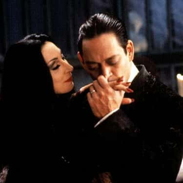 Morticia and Gomez Addams - 'The Addams Family'
