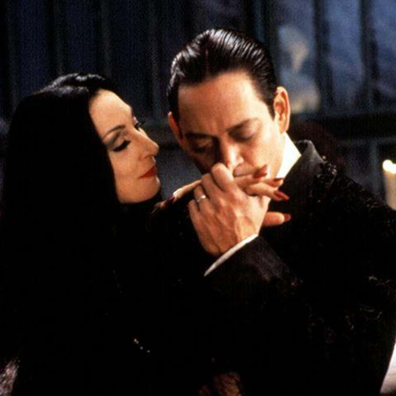 Morticia and Gomez Addams - 'T is listed (or ranked) 1 on the list The Best Couples in Horror Movies, Ranked