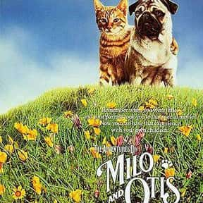 The Adventures of Milo and Oti is listed (or ranked) 13 on the list The Greatest Dog Movies Of All Time