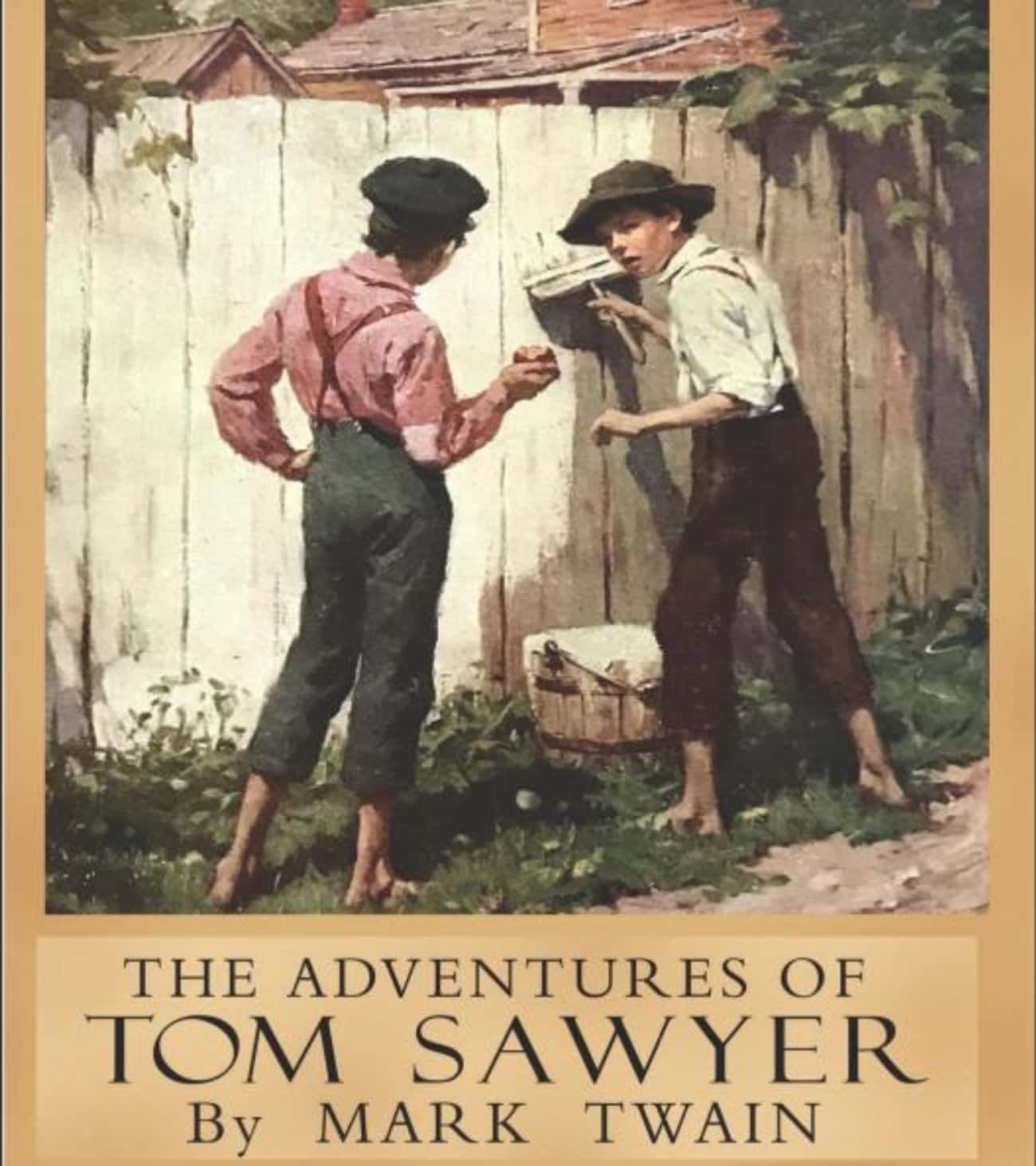The Adventures of Tom Sawyer / is listed (or ranked) 2 on the list Books That Defined Your Youth That You (Almost) Forgot About