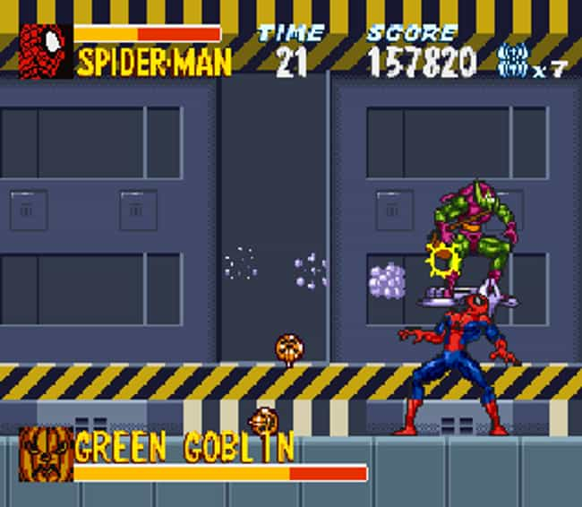 The Amazing Spider-Man: ... is listed (or ranked) 1 on the list 15 Fascinating Nintendo Games That Never Made It To The US