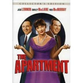 The Apartment is listed (or ranked) 14 on the list The Best Oscar-Nominated Movies of the 1960s