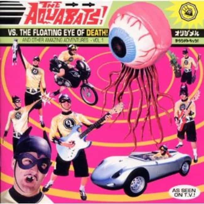 The Aquabats! vs. The Floating... is listed (or ranked) 4 on the list The Best Aquabats Albums of All Time