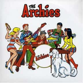 The Archies is listed (or ranked) 12 on the list The Best Bubblegum Pop Groups & Singers of All Time