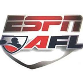 Arena Football League on ESPN is listed (or ranked) 20 on the list The Best Sports TV Shows